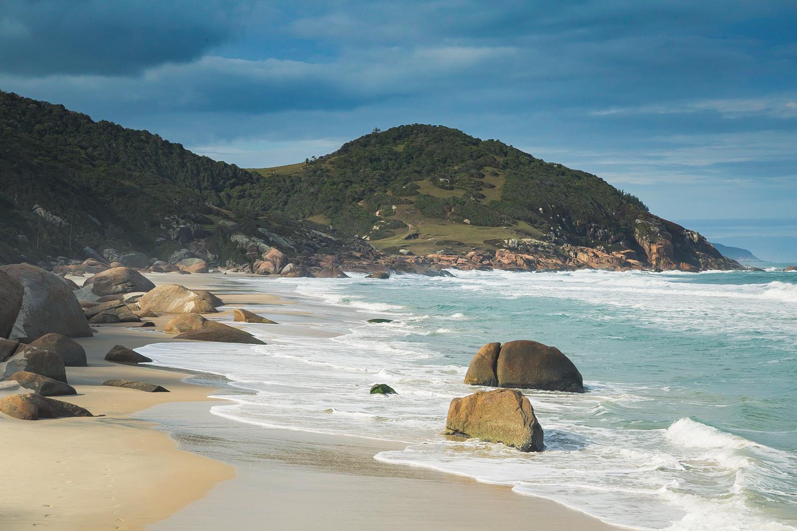 Boulders on Solita Beach, Brazil